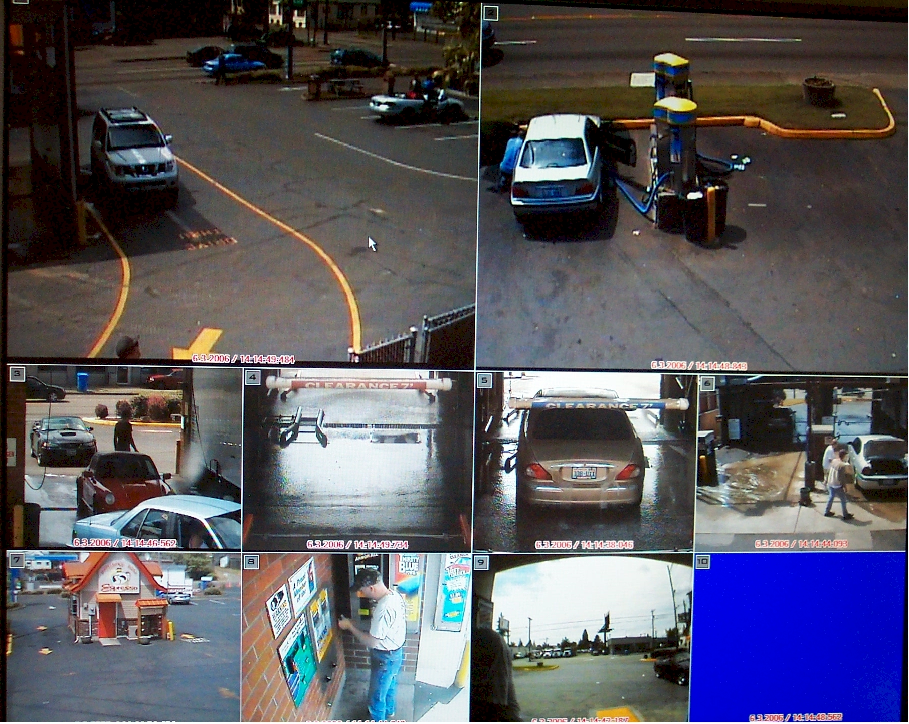 Seattle DVR - Retail - Store- Surveillance CCTV Server Security Camera